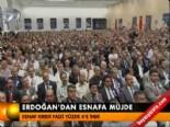 Erdoğan'dan esnafa müjde