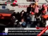 İtalya'ya sığınmacı akını