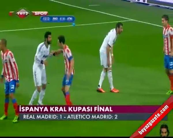Real Madrid - Atletico Madrid: 1-2 (Kral Kupası Özet) 2013