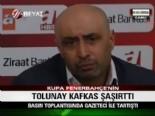 Tolunay Kafkas Gazeteci İle Tartıştı