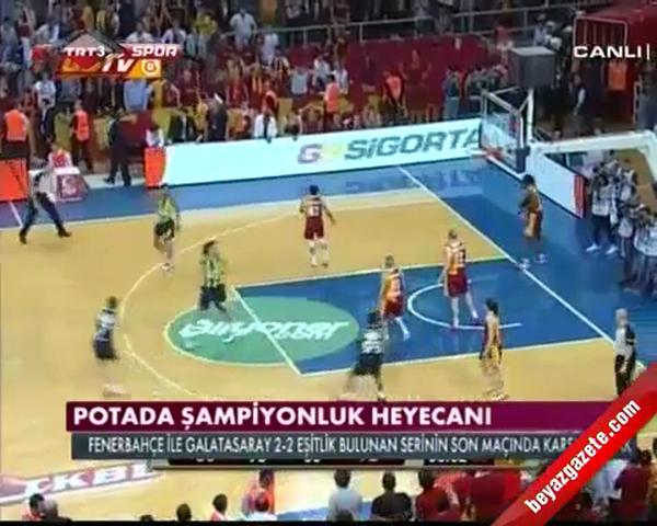 Fenerbahçe Galatasaray Bayan Basketbol Maçı (FB-GS Final)