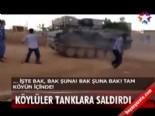 Köylüler tanklara saldırdı  online video izle