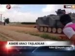 Askeri aracı taşladılar  online video izle