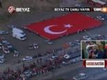 Erdoğana Altınparkta Türk Bayraklı Karşılama