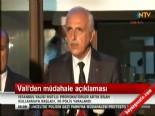 İstanbul Valisi Hüseyin Avni Mutlu'dan 'Taksim Gezi Parkı'na Müdahale Açıklaması
