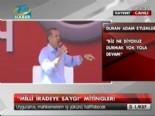Erdoğan: Bunların En İyi Yaptıkları Şey Durmaktır