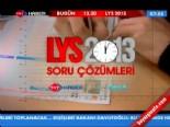 2013 LYS Soruları ve Cevapları TRT'de online video izle
