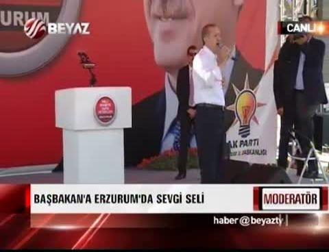'Milli İradeye Saygı' Mitingi Erzurum 1.Kısım