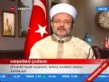 Diyanet İşleri Başkanı Mehmet Görmez'den Miraç Kandili Mesajı 2013 online video izle