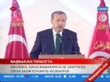 Başbakan Erdoğan'ın Tunus'taki Konuşması