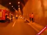 Bolu Dağı Tüneli'nde Yangın