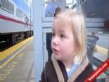 Hayatında İlk Kez Tren Gören Çocuk