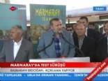 Başbakan Erdoğan'ın Marmaray'ın Test Sürüşü Öncesi Konuşması