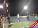 Jimnastikçi Kızdan Harika Basket