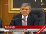 Cumhurbaşkanı Gül: 'Savaş arzusu yok'