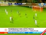 Fenerbahce Alanyaspor: 1-2 Maç Özeti