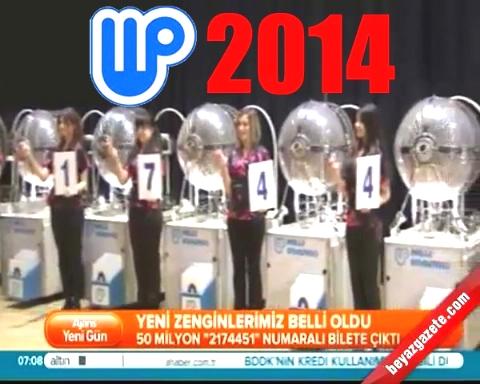 Milli Piyango Bilet Sorgulama 2014 - (Milli Piyango Sonuçları)