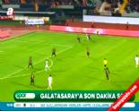 Galatasaray Antalyaspor: 1-1 Maç Özeti