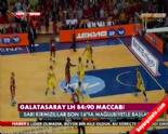 Galatasaray - Maccabi Tel Aviv: 84-90 Basketbol Maç Özeti