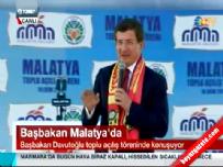 Başbakan Ahmet Davutoğlu Malatya'da halka hitap etti