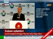 Cumhurbaşkanı Erdoğan Rize' de halka hitap ediyor 2