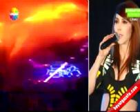 Hande Yener'in Sahne Olduğu Gece Kulübünden Yangın Çıktı!