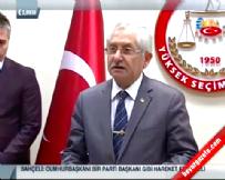 YSK Başkanı Sadi Güven'den HSYK Seçim Sonuçları Resmi Açıklama (12 Ekim 2014)