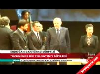 Cumhurbaşkanı Erdoğan'dan Aşık Veysel Türküsü 'Uzun İnce Bir Yoldayım'