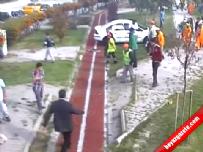 Ankara'daki korkunç kaza saniye saniye kamerada