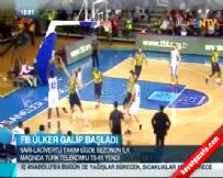 fenerbahce - Fenerbahçe Ülker Türk Telekom: 73-61 Basketbol Maç Özeti