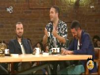 İncir Receli 2 Filminin Başrol Oyuncuları Halil Sezai ve Şafak Pekdemir 3 Adam'da