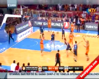 Galatasaray Liv Hospital - Valencia Basket: 71-64 Basketbol Maç Özeti (23 Ekim 2014)