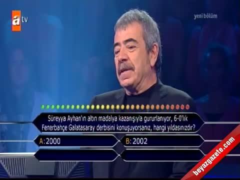 fenerbahce - Kim Milyoner Olmak İster'de Galatasaraylıları çıldırtan soru