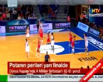 Türkiye Sırbistan: 62-61 Bayanlar Basketbol Maç Özeti (Kadınlar Basketbol Şampiyonası)