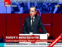 Recep Tayyip Erdoğan ATO'da konuştu