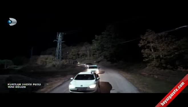 kurtlar vadisi - Kurtlar Vadisi Pusu'daki sahneler Amerikan filmlerini aratmadı