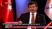 Davutoğlu: Yüreği yetiyorsa CHP ve MHP de gitsin