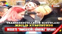 CHP'li Mahmut Tanal Transeksüel ve Eşcinsellerle Meclis'te Basın Toplantısı Yaptı
