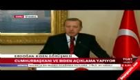 Erdoğan - ABD Başkan Yardımcsı Biden basın toplantısı
