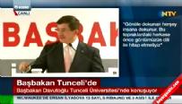 Başbakan Ahmet Davutoğlu Tunceli Üniversitesi'nde konuştu
