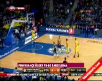 Fenerbahçe Ülker Barcelona: 78-80 Basketbol Maç Özeti (6 Kasım 2014)