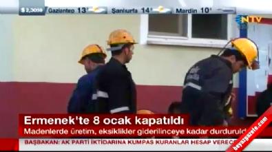 Karaman Ermenek'teki 8 Kömür İşletmesi Kapandı!