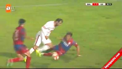 Balçova Yaşamspor 1-3 Galatasaray (GOL: Goran Pandev)