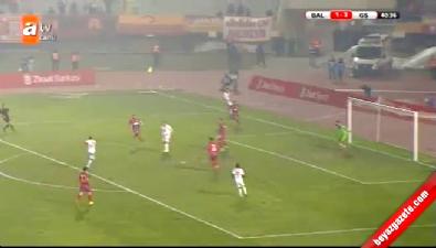 Balçova Yaşamspor 1-4 Galatasaray (GOL: Olcan Adın)
