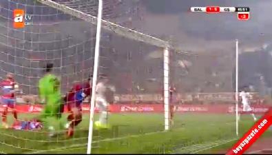 Balçova Yaşamspor 1-5 Galatasaray (GOL: Goran Pandev)