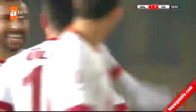 Balçova Yaşamspor 1-6 Galatasaray (GOL: Sinan Gümüş)