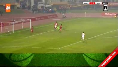 Balçova Yaşamspor 1-9 Galatasaray (GOL: Yekta Kurtuluş)