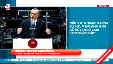 Erdoğan: Osmanlı dağıldığında bu milletin bittiğini sandılar ama...