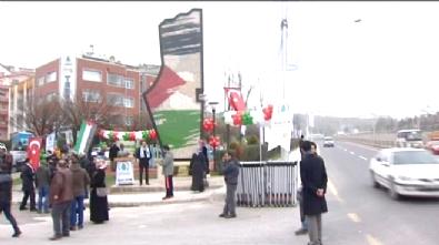 Ankara Pursaklar'da Filistin Özgürlük Anıtı Açıldı!