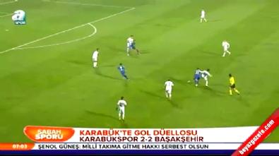 Karabükspor İstanbul Başakşehir: 2-2 Maç Özeti ve Golleri (Türkiye Kupası 17 Aralık 2014)